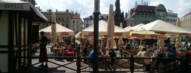 Café Restaurant Caesar is one of 30. Olomouckych hospod kam zajit na jedno ;-).