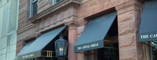 The Capital Grille is one of DC.