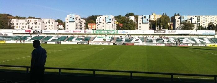 Štadión Tatran Prešov is one of Prvoligové futbalové štadióny.