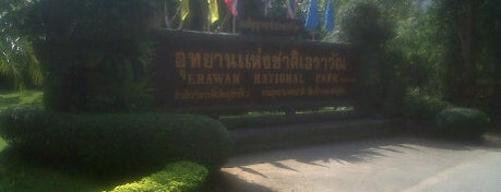Erawan National Park is one of My TripS :).