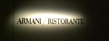 Armani/Ristorante 5th Avenue is one of New York.