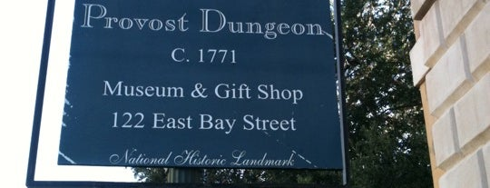 The Old Exchange & Provost Dungeon is one of Charleston, SC.