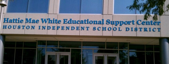 Houston Independent School District is one of HTOWN SPOTS.