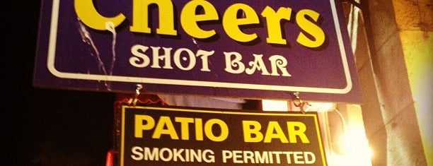 Cheers Shot Bar is one of Locais salvos de Kat.