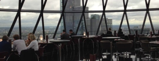 HELIX Restaurant is one of Breathtaking Views of London.
