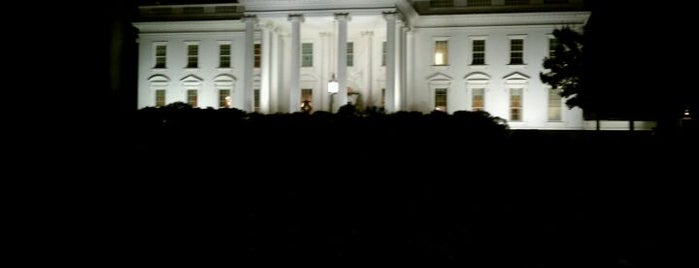 The White House is one of Best Places to Check out in United States Pt 7.