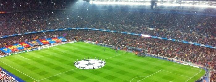 캄프 누 is one of 101 llocs a veure a Barcelona abans de morir.