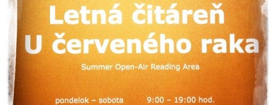 Letná čitáreň U červeného raka is one of Books everywhere I..