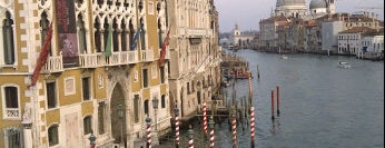 Canal Grande is one of World Heritage Sites List.