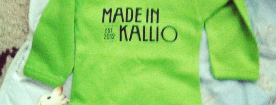 Made in Kallio is one of Helsinki.