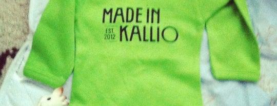 Made in Kallio is one of Helsinki life.