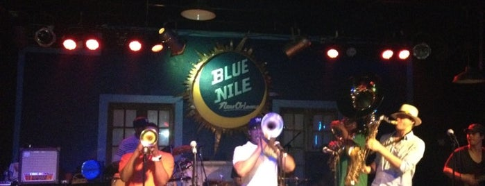 Blue Nile is one of New Orleans, LA.