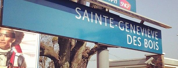 RER Sainte-Geneviève-des-Bois [C] is one of Paris.
