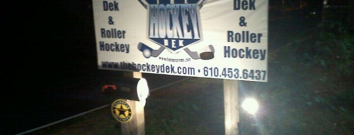 The Hockey Dek is one of places.