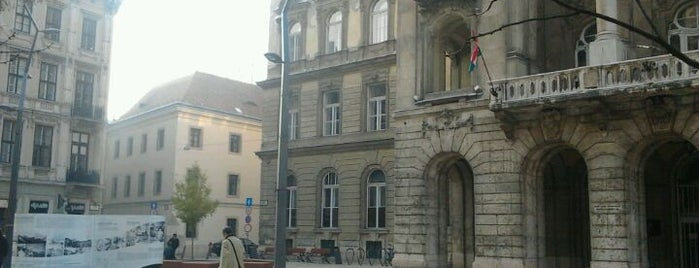 Egyetem tér is one of Must Do's in Budapest.