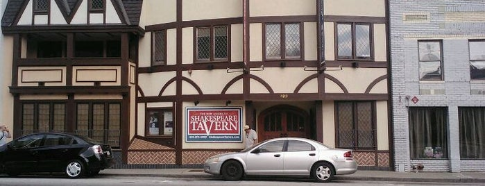 Shakespeare Tavern is one of Atlanta Theatre Venues.