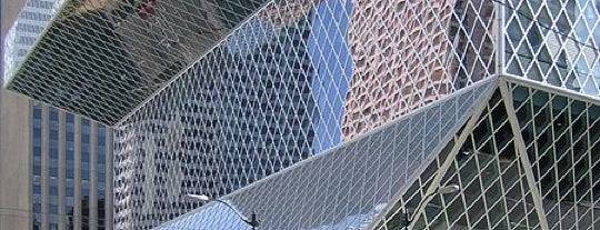 Seattle Public Library is one of Lost in Seattle.