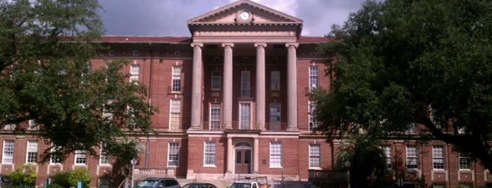 Newcomb Hall is one of N'awlins Newbie.
