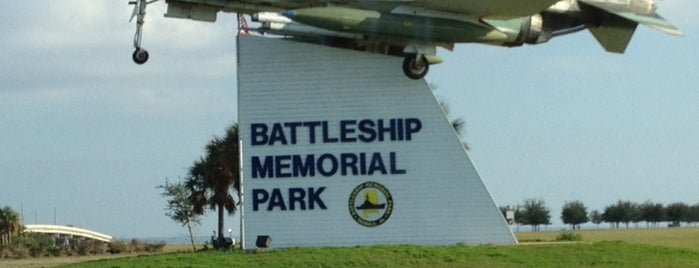 USS Alabama Battleship Memorial Park is one of Crispinさんのお気に入りスポット.