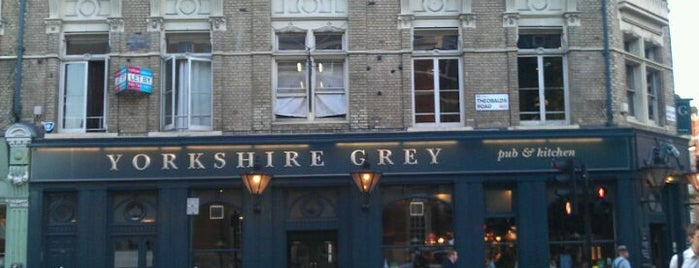 The Yorkshire Grey is one of London mClub sponsors.