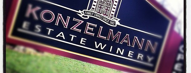 Konzelmann Estate Winery is one of Lugares favoritos de Ethan.
