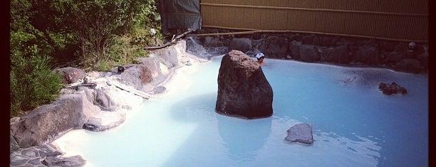 ゆふいん 庄屋の館 露天風呂 is one of Hokuoka.