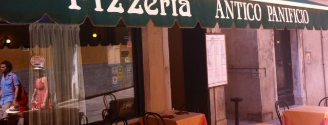Pizzeria Antico Panificio is one of Venezia.