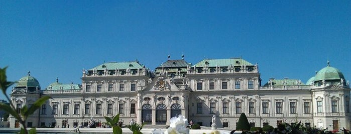 Oberes Belvedere is one of Austria.
