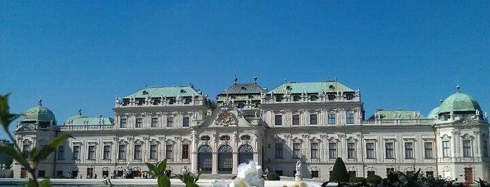 Верхний Бельведер is one of Austria.