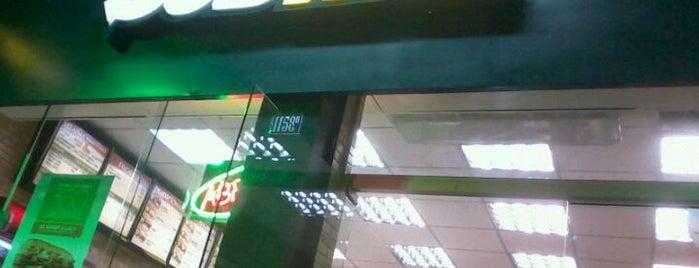 Subway is one of TEM QUE IR, TEM QUE IR.