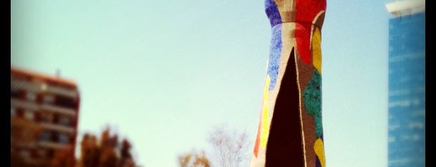 Parc de Joan Miró is one of 101 llocs a veure a Barcelona abans de morir.