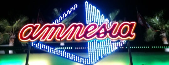 Amnesia Ibiza is one of Ibiza Eat Sleep Drink Chill Party.