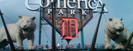 Comerica Park is one of Top Picks for Sports Stadiums/Fields/Arenas.