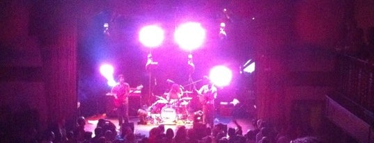 Bowery Ballroom is one of SF Metromix's Top 25 Live Music Venues.