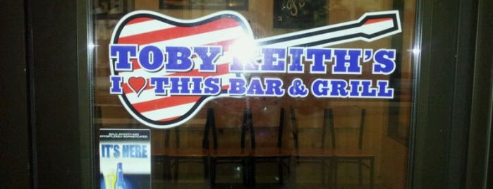 Toby Keith's I Love This Bar & Grill is one of more to do list.