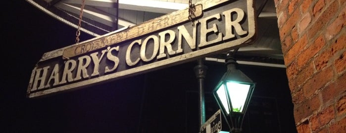 Harry's Corner is one of NOLA Bars to Watch Football.
