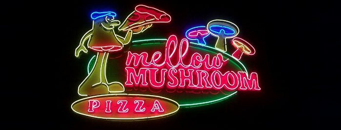 Mellow Mushroom is one of ASU Off-Campus Dining.