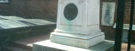 Grave of Edgar Allan Poe is one of Charms of Baltimore #visitUS #4sq.