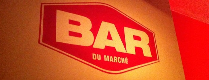 Bar du Marché is one of Some good spots in Bx..