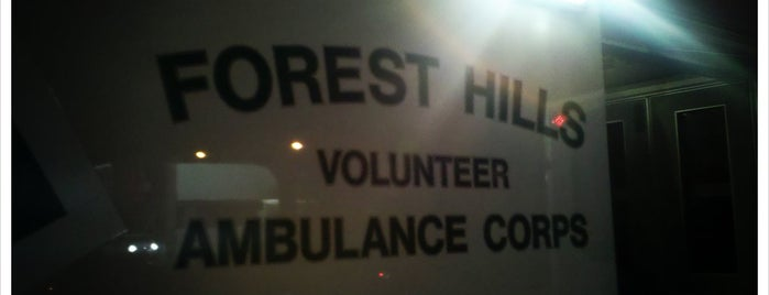 The Forest Hills Volunteer Ambulance Corps is one of NYC Volunteer Ambulance Quarters.