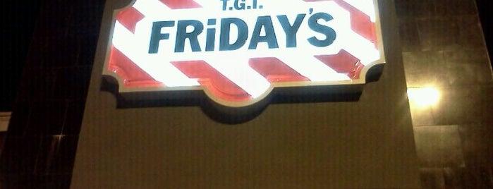 TGI Fridays is one of Kamara 님이 좋아한 장소.