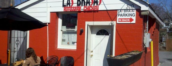 Las Brasas is one of Atl.