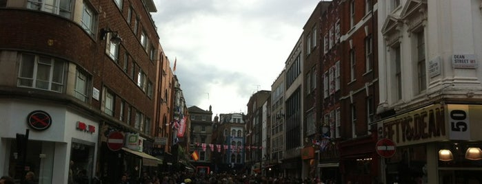 Soho is one of london.