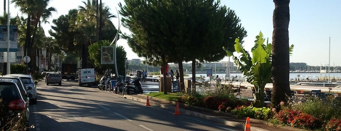 Boulevard de la Croisette is one of FR2DAY's Guide to the Great Outdoors.