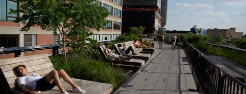 High Line is one of Coolplaces Nyc.