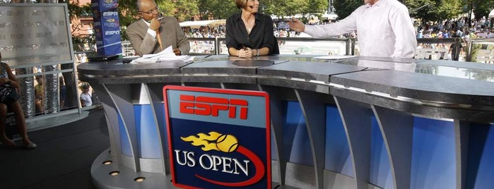 US Open Sports Desk is one of US Open Grounds.