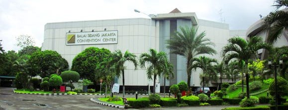 Jakarta Convention Center (JCC) is one of Jakarta. Indonesia.