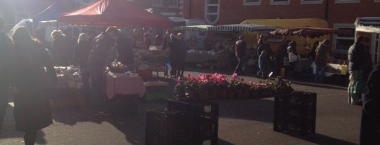 Wimbledon Farmers' Market is one of London Markets.