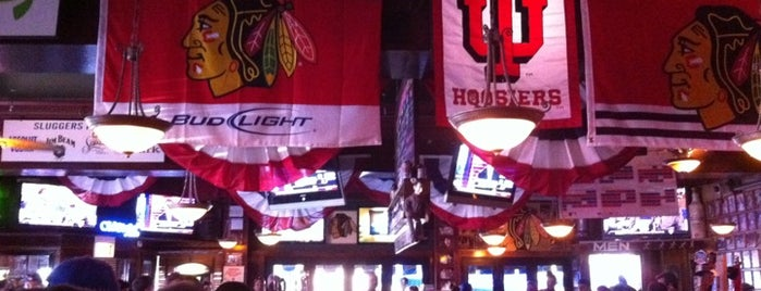 Sluggers World Class Sports Bar and Grill is one of Wrigleyville.