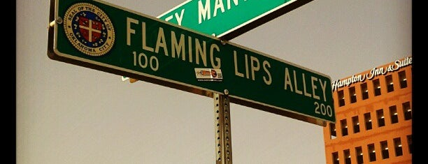 Flaming Lips Alley is one of Oklahoma City OK To Do.